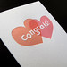 Intersecting Hearts Congrats