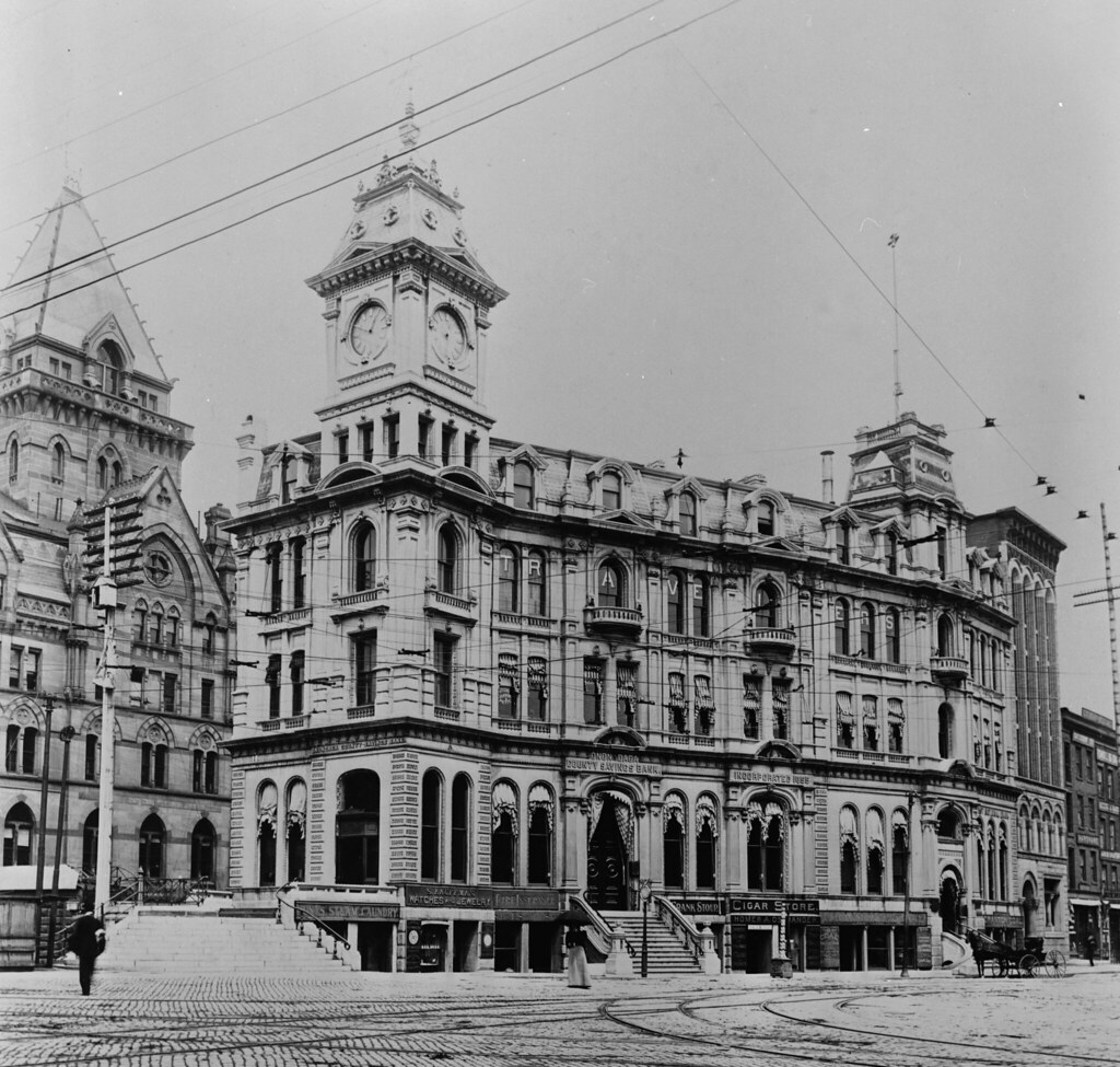 Syracuse, NY Gridley Building 1900 | From the Library of ...