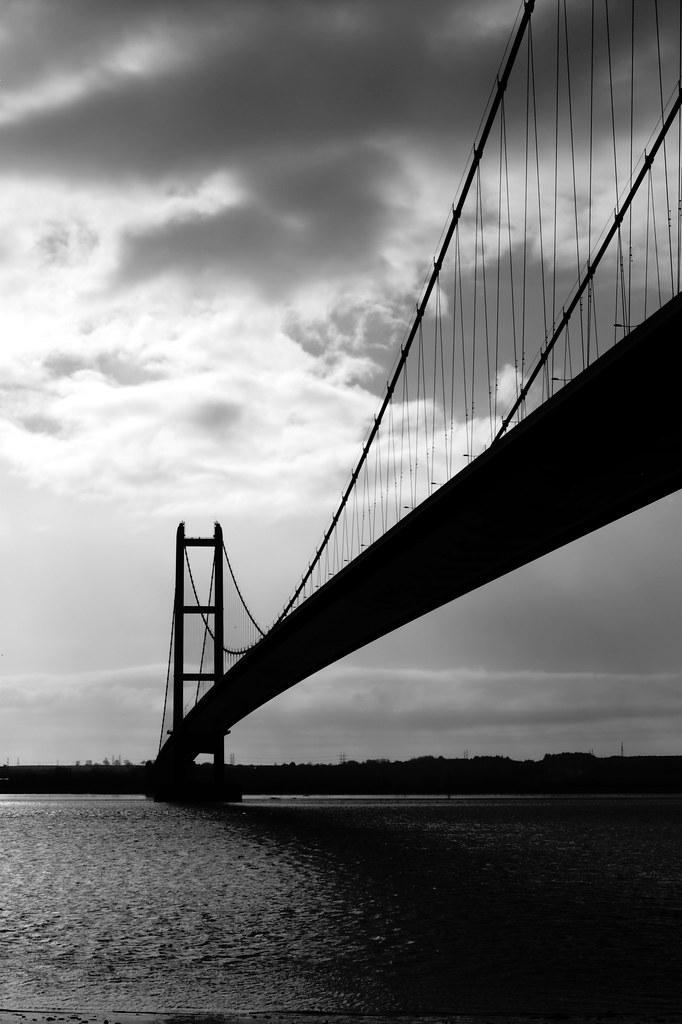 Humber Bridge in Silhouette | Adrian S Jones | Flickr
