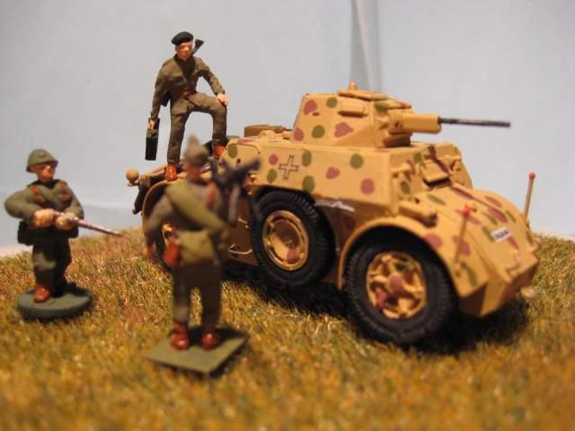 Rumanian Armoured Car AB 41