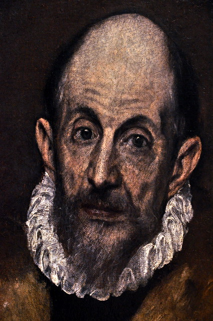 Download Self-portrait of El Greco (approximately 1609) | Flickr - Photo Sharing!