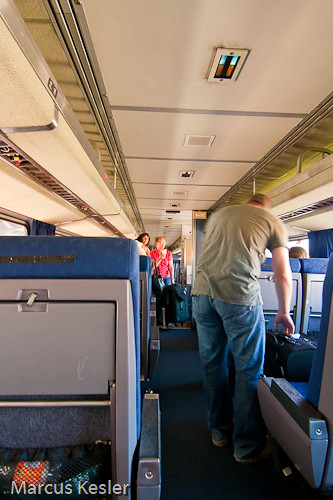 Traveling in Coach Coach class inside the Heartland Flyer… Flickr