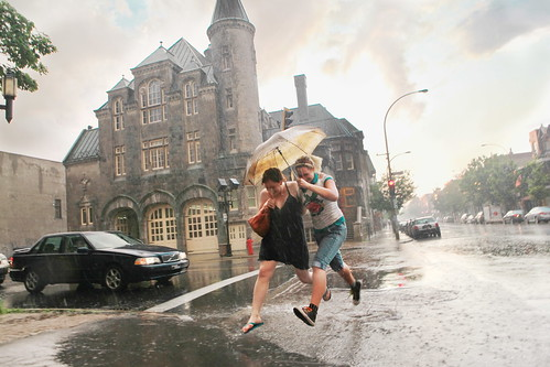 Storm on Laurier & St Laurent | by Jonathan!