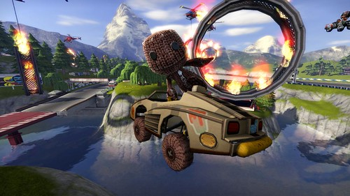 ModNation Racers (Sackboy) | by PlayStation.Blog