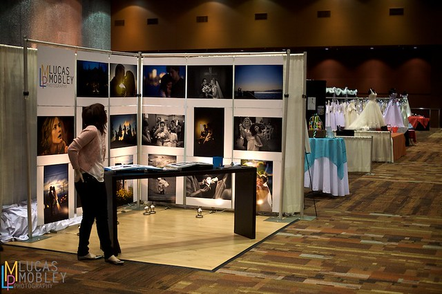 Photography Expo Stands : Bellevue wedding expo photography booth lucas mobley