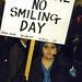 No smiling