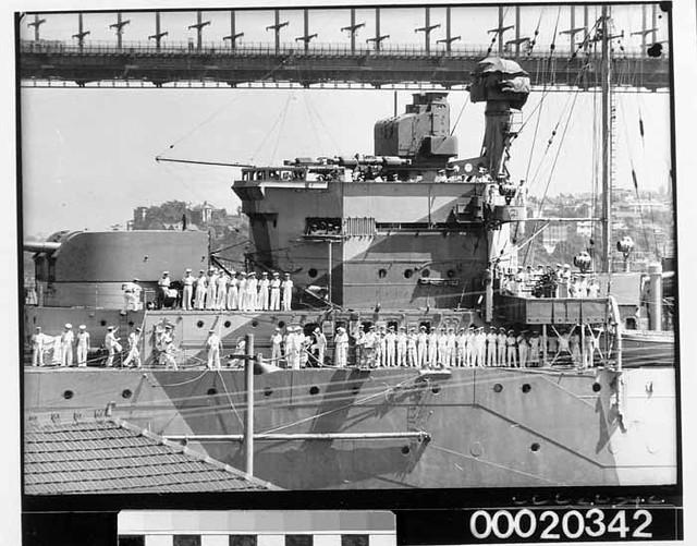 HMAS Sydney II Virtual Memorial - History The Ship