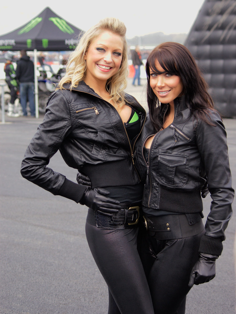Monster Energy babes | PTS 2009 au Bourget. | anw | Flickr