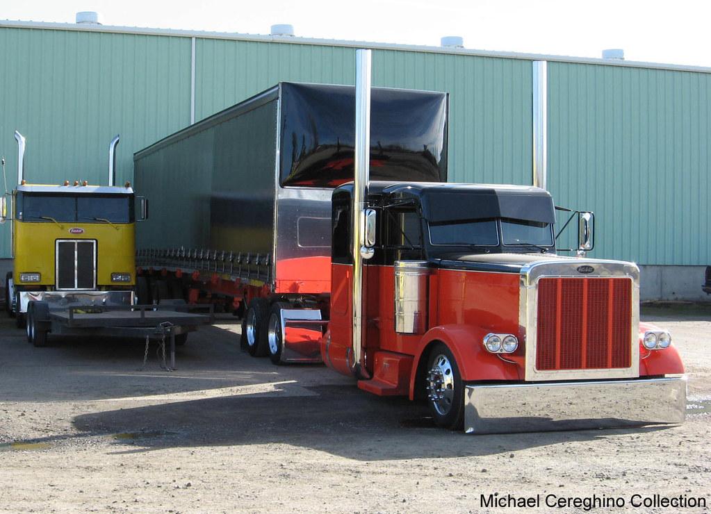 Jdt James Davis Trucking Peterbilt 379 With Matching Curt