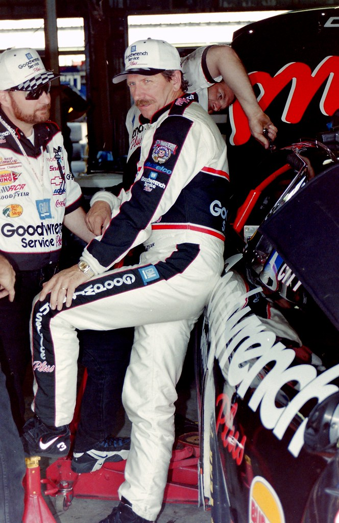 Dale Earnhardt Sr Drives Wrecked Car At Daytona