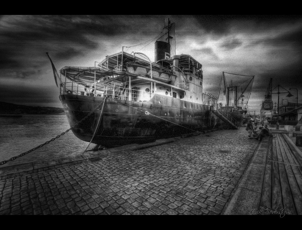 the old boat lobb large on black background u003c do it 9 u2026 flickr