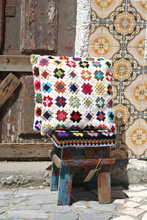tiles & granny squares | by wood & wool stool