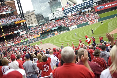 St. Louis Cardinals fans | by kylesteed