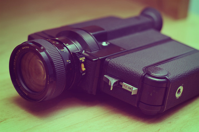 Sankyo Super 8 Camera | This is my new toy, that I have to ...