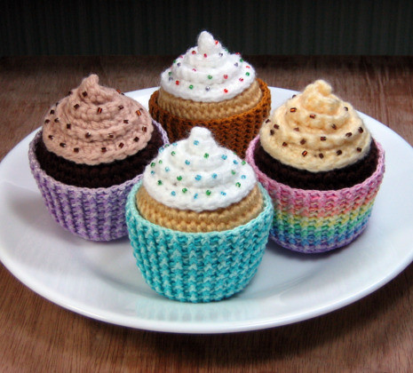 More Amigurumi Cupcakes | by stripeyblue