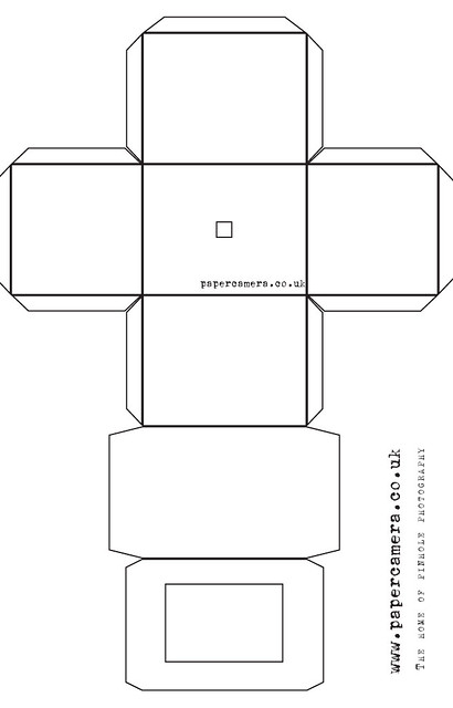 photo about Camera Template Printable named 72 PRINTABLE PAPER Digicam TEMPLATE