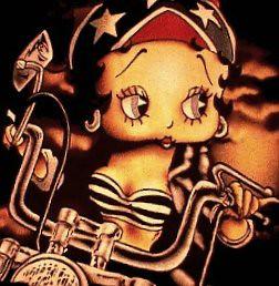 Harley Davidson Betty Boop Betty Boop N An Expensive Mot Flickr