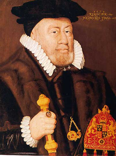Sir Nicholas Bacon, Lord Keeper of the Great Seal for Eliz ...