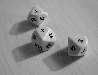 Roman numeral dice | by James Bowe