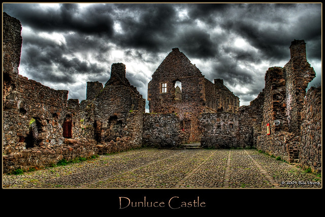 Dunluce Castle Another View Of Dunluce Castle From The