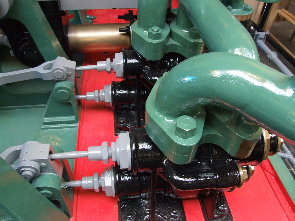 Water Motor Valves This Is Part Of The Actual Water