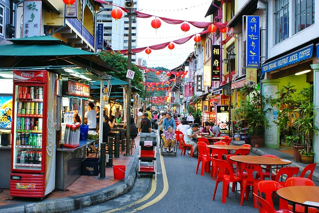 Chinatown Singapore Street Dining In Chinatown Is