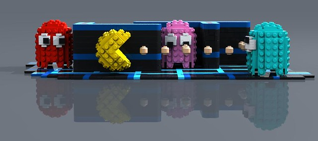 LEGO Pac-Man   Flickr - Photo Sharing!