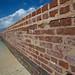 moat retaining wall...