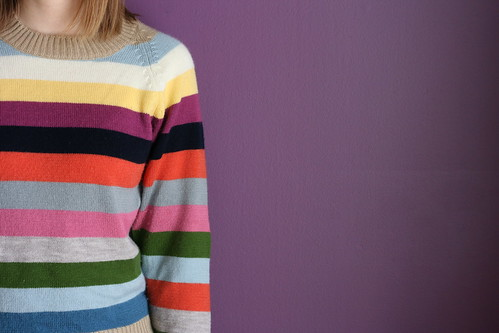 365-256 (Colour Week: Stripes) | by knittinging