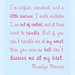 At My Best - Marilyn Monroe Quote in Pink on Light Blue