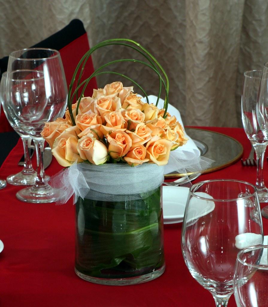 Centro de mesa rosas naturales humberto terenziani flickr - Centros de mesa naturales ...