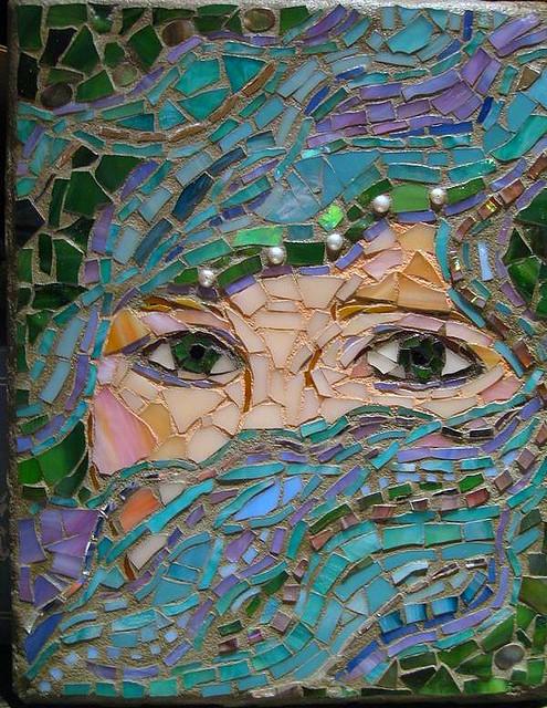 Mosaic Mirror Design Ideas