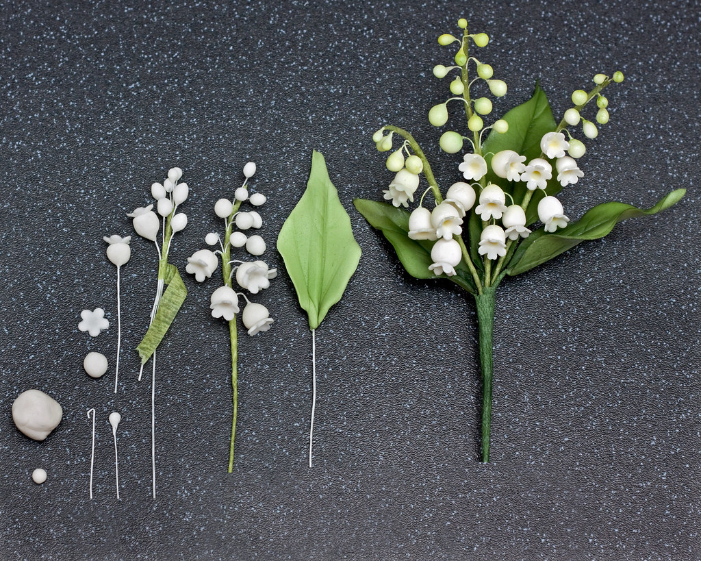 How to make a lily of the valley in sugar not a good photo flickr izmirmasajfo Images