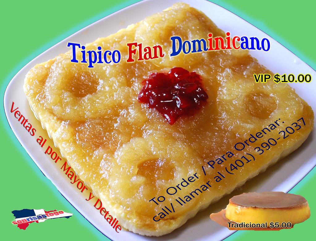 Flan dominicano