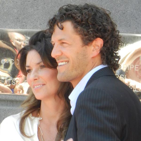 Shania Twain & Husband Fred