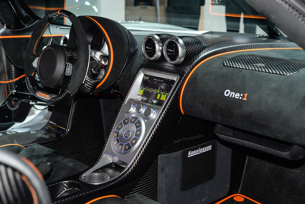 Koenigsegg One Interior >> Koenigsegg One:1 Interior | Swedish luxury. | JayRao | Flickr
