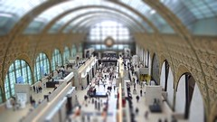 Musée d'Orsay (fake)-tilt-shifted | by Where's a Fatal Thinker?