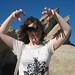 Liz at Vasquez Rocks
