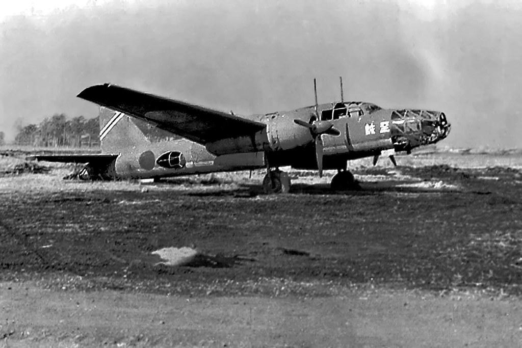 Mitsubishi Ki-67 Hiryu, Derelict Warbird | Christopher ...