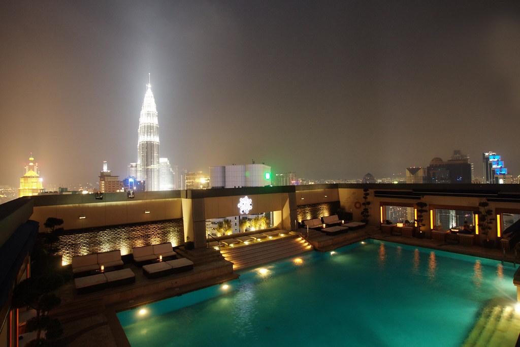 The grandiose Luna Bar, KL | Super-chic breezy rooftop bar w… | Flickr