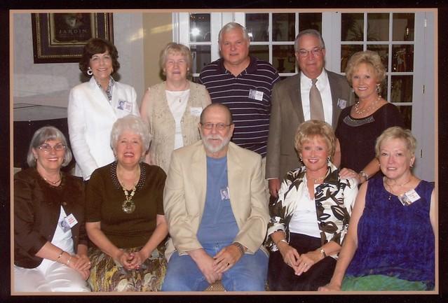 50th High School Reunion Committee   {l-r}: Doris Shaffer ...