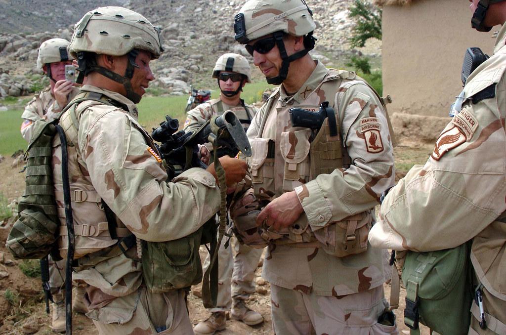 Iraq Painted Face Combat