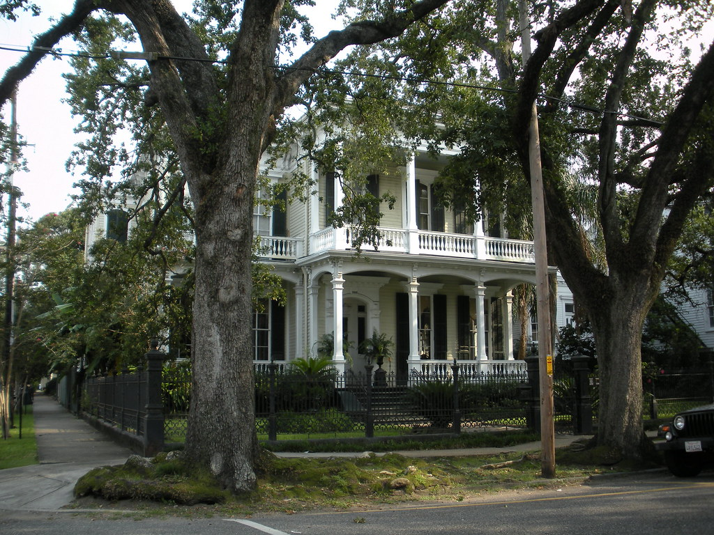 Garden District Mansion New Orleans La Just A Few Block Flickr