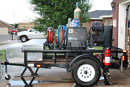 Portable Welding Trailer By R Davis This Trailer Started Flickr