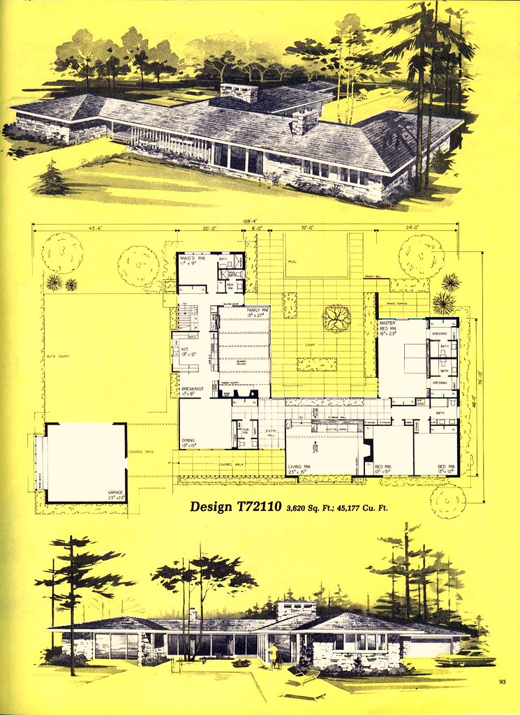 Home Planners Design T72110 MidCentArc Flickr