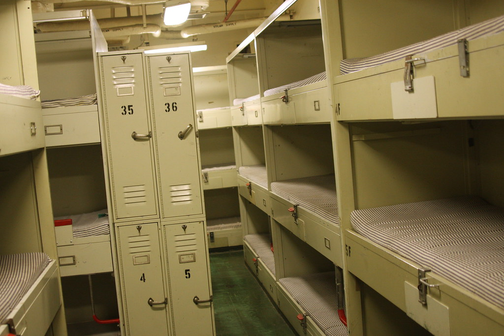 Enlisted Men S Bunks Experience Quot Life At Sea Quot Without