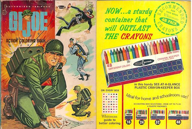 1965 Whitman G.I. Joe Action Coloring Book   Gregg Koenig   Flickr