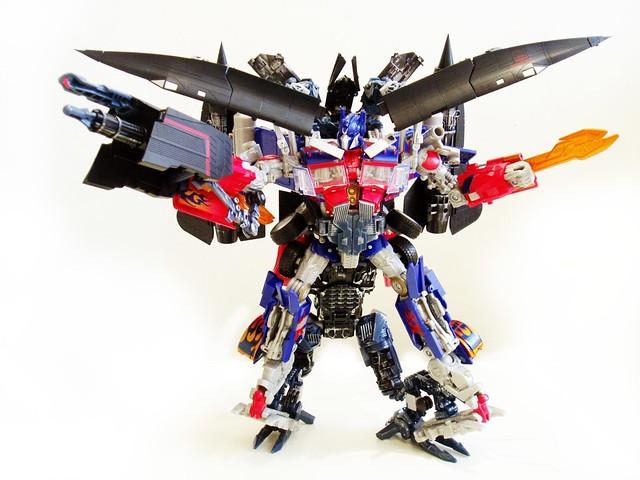 Optimus prime jetfire combined