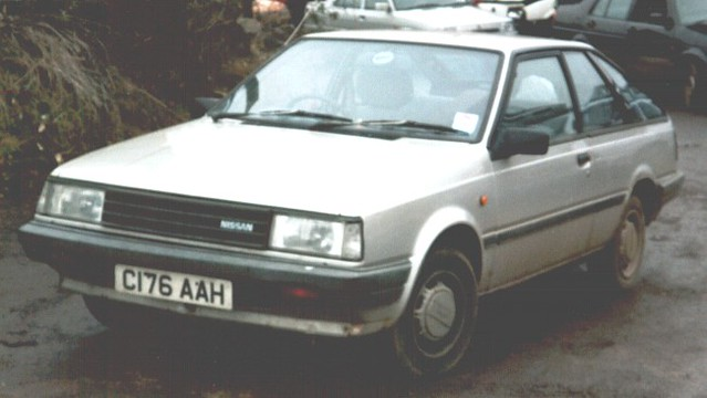 1985 Nissan Sunny 1 5sgl Coupe B11 This Was Kind Of