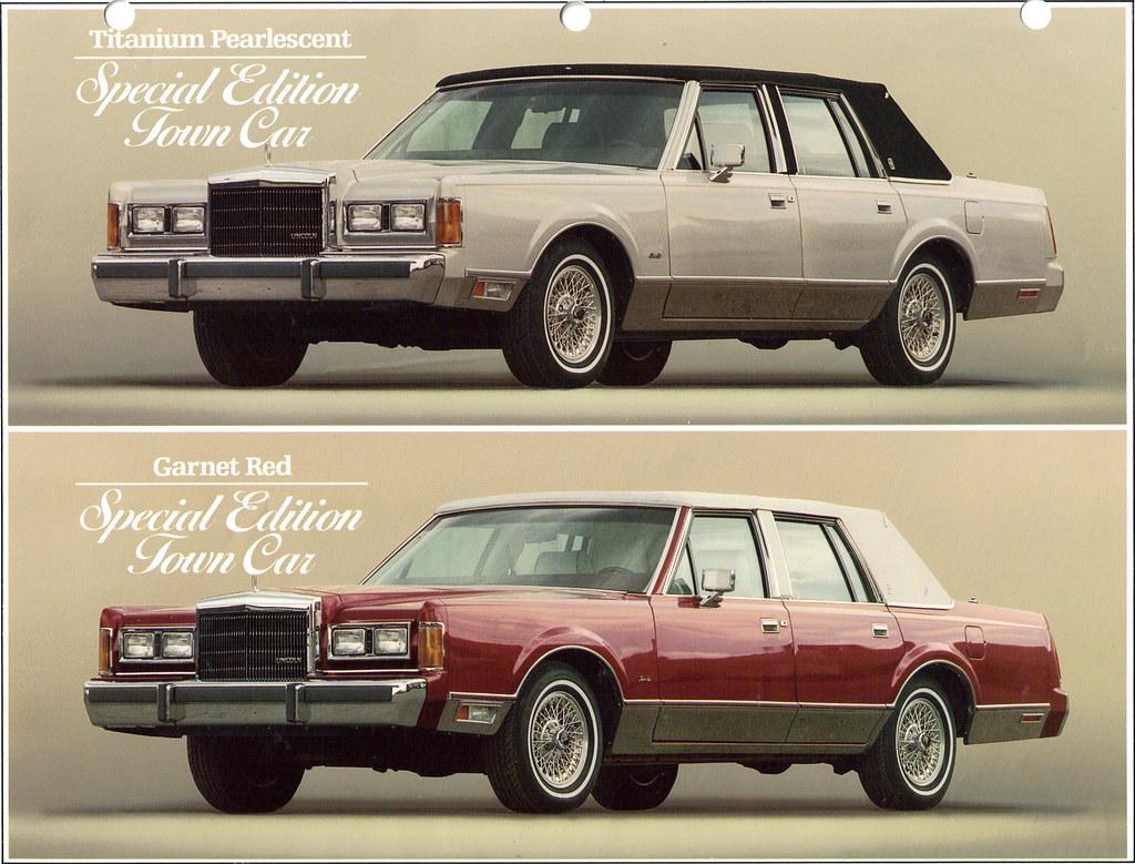 1989 Lincoln Town Car Special Edition Coconv Flickr